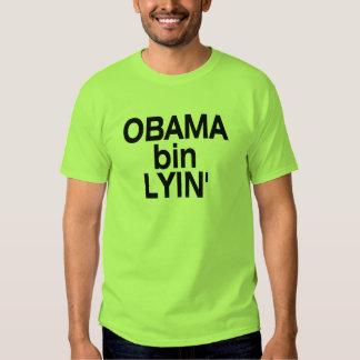 Obama bin Lyin' T Shirt