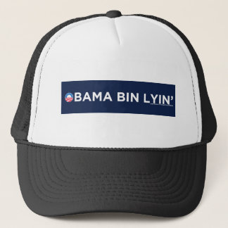 Obama bin Lyin' Trucker Hat