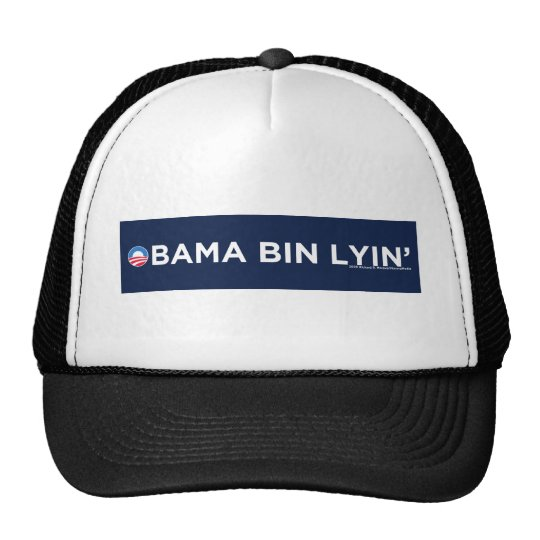 Obama bin Lyin' Trucker Hat
