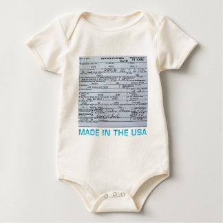 obama birth certificate baby bodysuit