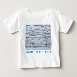 obama birth certificate baby T-Shirt