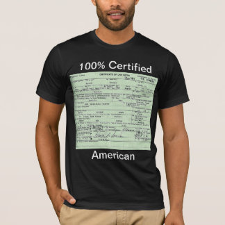 Obama Birth Certificate T-Shirt
