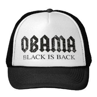 Obama Black is Back Trucker Hat