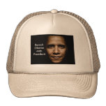 Obama-Black Trucker Hat