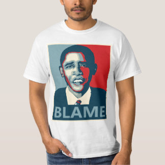Obama Blame T Shirt