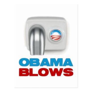 Obama Blows Postcard