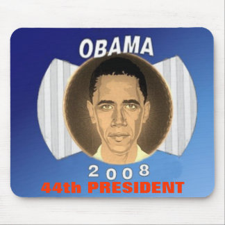 Obama Blue Mousepad