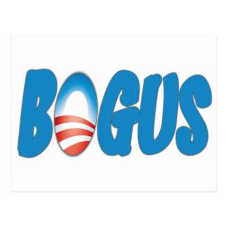 Obama: Bogus Postcard
