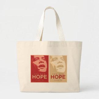 """Obama bolso """"de la nueva esperanza"""" bolsa tela grande"""