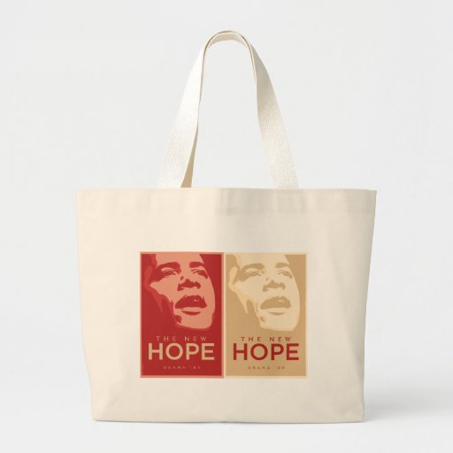 "Obama bolso ""de la nueva esperanza"" bolsas de mano"