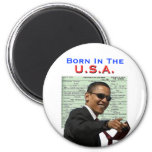 Obama: Born In The U.S.A. Fridge Magnets