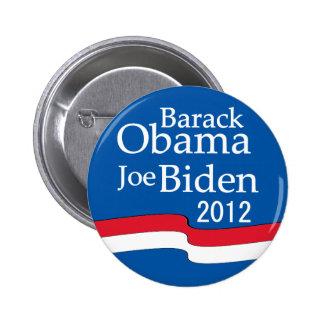 Obama - botón de Biden 2012 Pin Redondo De 2 Pulgadas