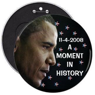 OBAMA - botón presidencial 11-4-2008 Pins