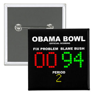 Obama Bowl - Official Scoring 2 Inch Square Button