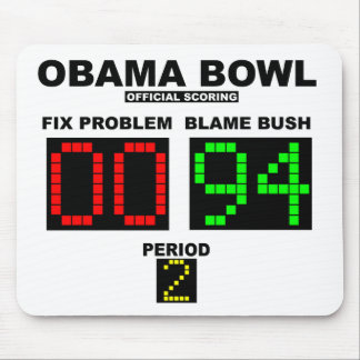 Obama Bowl - Official Scoring Mouse Pad