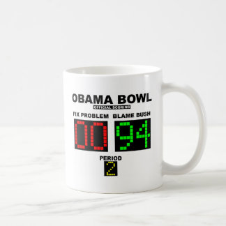 Obama Bowl - Official Scoring Classic White Coffee Mug