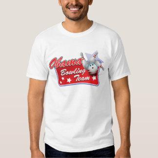 Obama Bowling Team T Shirt