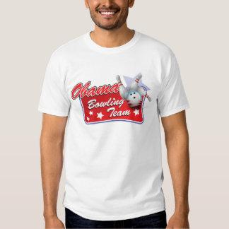 Obama Bowling Team T-shirt