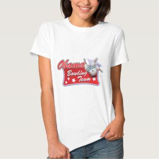 Obama Bowling Team Tee Shirt