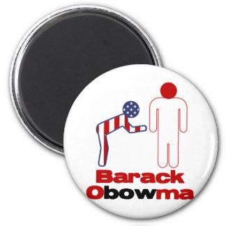 Obama Bows Magnet