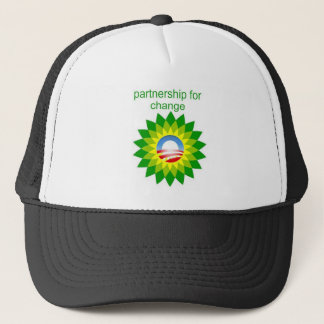 Obama & BP Trucker Hat