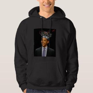 Obama brain juicer hooded sweatshirt