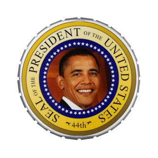 """Obama Brand """"Govern Mints"""" Jelly Belly Tin"""