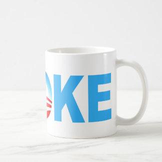 OBAMA BROKE COFFEE MUG
