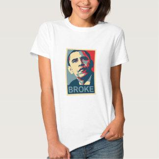 Obama: Broke T Shirt
