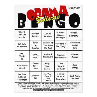 Obama Bullcrap Bingo #005 & #006 Flyer