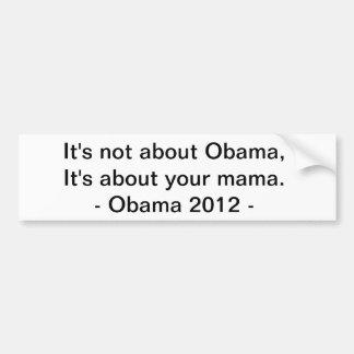 Obama bumper sticker 3