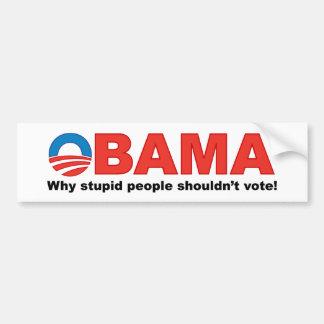 Obama Bumper Sticker Car Bumper Sticker