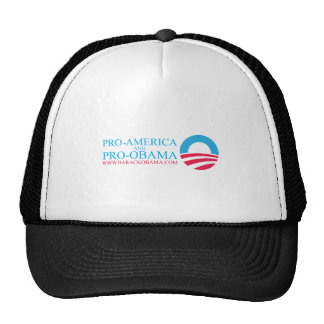OBAMA-BUMPER TRUCKER HAT