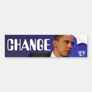 Obama Bumperstickers Bumper Sticker