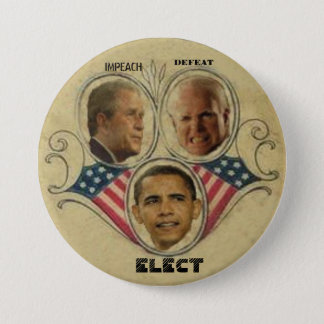 Obama/Bush.McCain Button