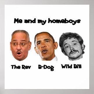 Obama Cabinet Poster