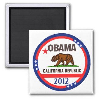 Obama California Magnet