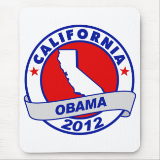 Obama - California Mouse Pad
