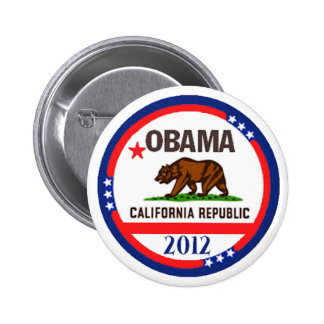 Obama California Pins