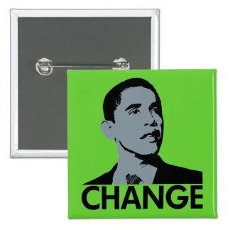 Obama: Cambie el Pin verde del cuadrado