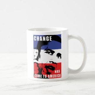 Obama - cambie ha venido a América Taza De Café