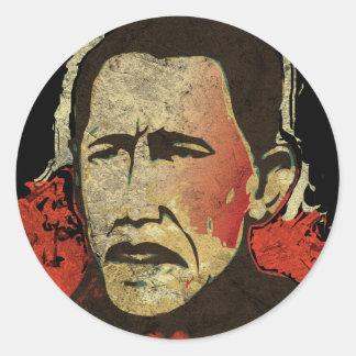 Obama - Cambio Classic Round Sticker