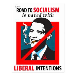Obama:  Camino a la postal del socialismo