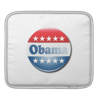OBAMA CAMPAIGN BUTTON -.png iPad Sleeves