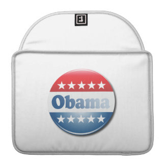 OBAMA CAMPAIGN BUTTON -.png Sleeves For MacBooks