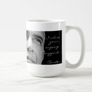 Obama Campaign Ongoing Support Mug