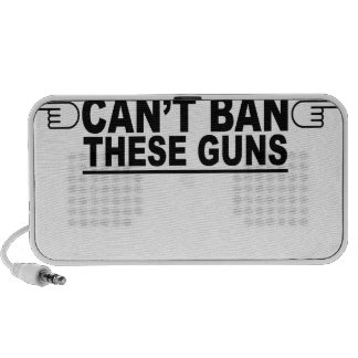 Obama Can't Ban These Guns T-Shirts.png Travelling Speaker
