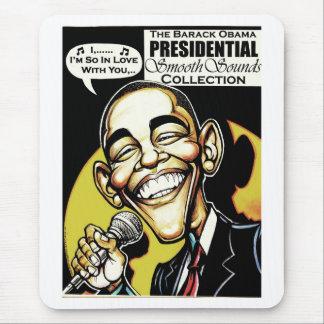 ¡Obama canta! (2012) Tapete De Ratón