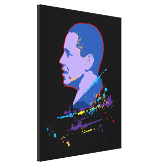 Obama Stretched Canvas Prints
