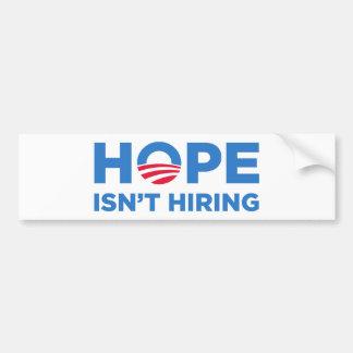 Obama Car Bumper Sticker